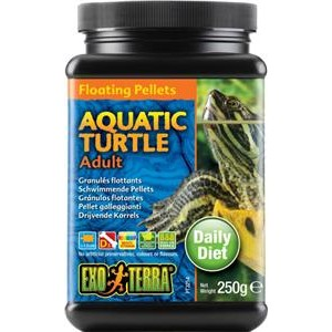Exo Terra Aquatic Turtle Floating Pellets Adult 250gm