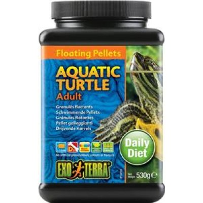 Exo Terra Aquatic Turtle Floating Pellets Adult 530gm