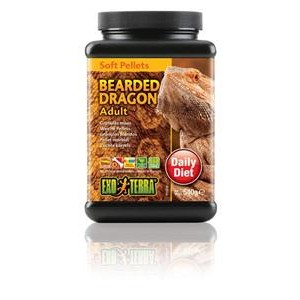 Exo Terra Bearded Dragon Food Adult 540gm