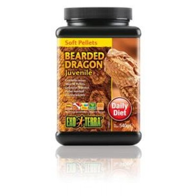 Exo Terra Bearded Dragon Food Juvenile 540gm