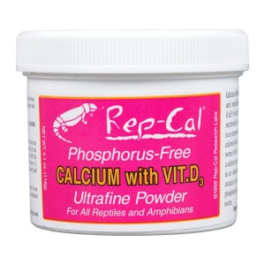 Rep-cal Calcium Powder With Vitamin D3 93.5gm