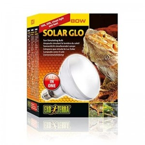 Exo Terra Solar Glo 80w UV Heat Lamp