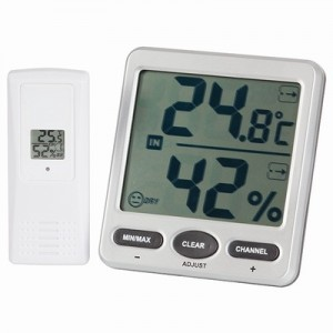 8 Channel Wireless Thermometer/Hygrometer